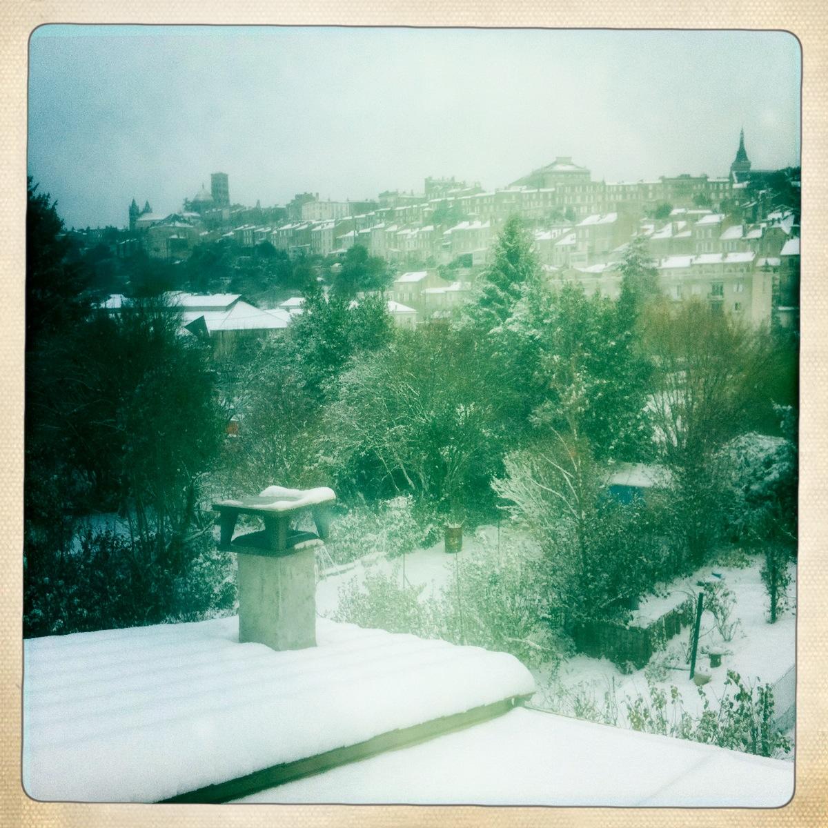 Angouleme sous la neige