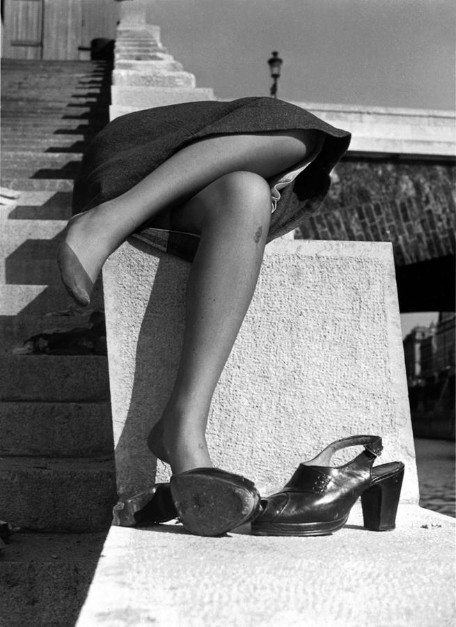 izis- Photo des quais de seine-env1950