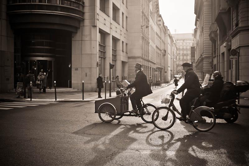 A Paris en vélo