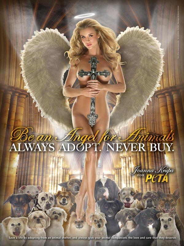 publicité PETA